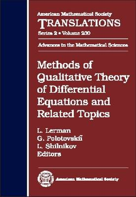 Methods of Qualitative Theory of Differential Equations and Related Topics - American Mathematical Society Translations: Series 2 (Hardback)