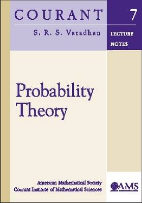 Probability Theory - Courant Lecture Notes (Paperback)