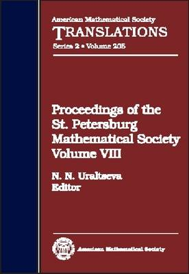 Proceedings of the St. Petersburg Mathematical Society, Volume 8 - American Mathematical Society Translations (Hardback)