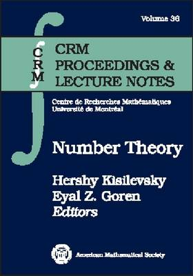 Number Theory - CRM Proceedings & Lecture Notes (Paperback)