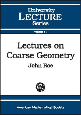 Lectures on Coarse Geometry - University Lecture Series (Paperback)