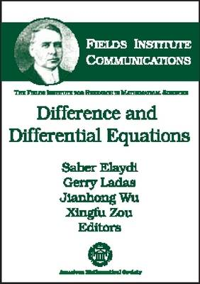 Difference and Differential Equations - Fields Institute Communications (Hardback)