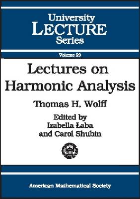 Lectures on Harmonic Analysis - University Lecture Series (Paperback)