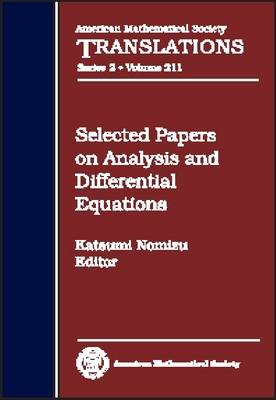 Selected Papers on Analysis and Differential Equations - American Mathematical Society Translations (Hardback)
