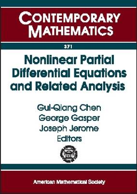 Nonlinear Partial Differential Equations and Related Analysis - Contemporary Mathematics (Paperback)