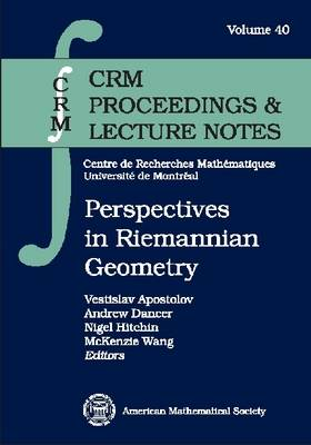 Perspectives in Riemannian Geometry - CRM Proceedings & Lecture Notes (Paperback)