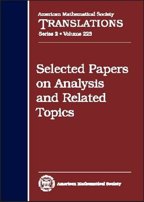 Selected Papers on Analysis and Related Topics - American Mathematical Society Translations (Hardback)