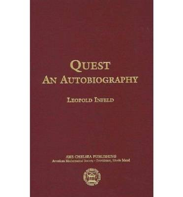 Quest: An Autobiography - AMS Chelsea Publishing (Hardback)