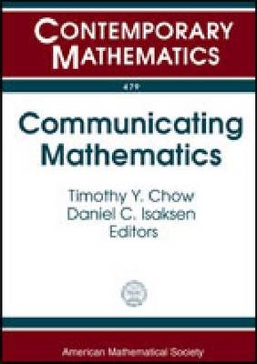 Communicating Mathematics - Contemporary Mathematics (Paperback)