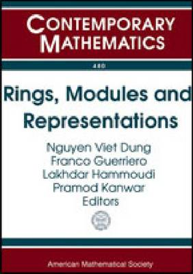 Rings, Modules and Representations - Contemporary Mathematics (Paperback)