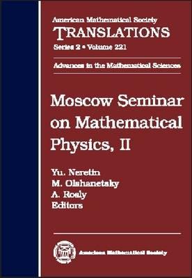 Moscow Seminar on Mathematical Physics, Volume 2 - American Mathematical Society Translations (Hardback)