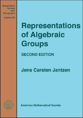 Representations of Algebraic Groups - Mathematical Surveys and Monographs (Paperback)