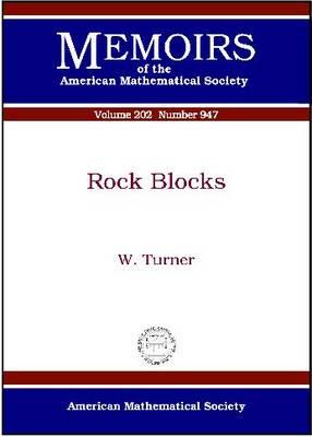 Rock Blocks - Memoirs of the American Mathematical Society (Paperback)