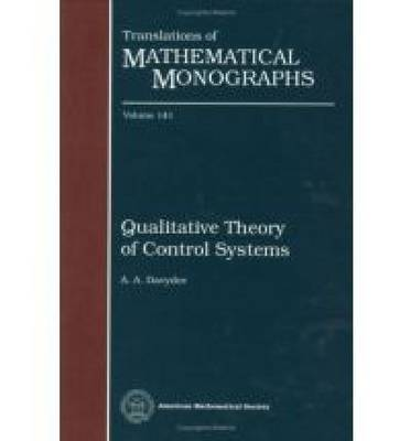 Qualitative Theory of Control Systems - Translations of Mathematical Monographs (Hardback)