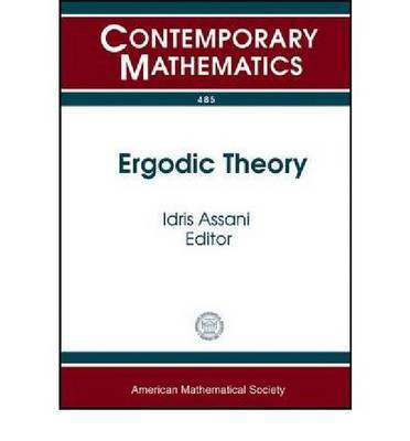 Ergodic Theory - Contemporary Mathematics (Paperback)