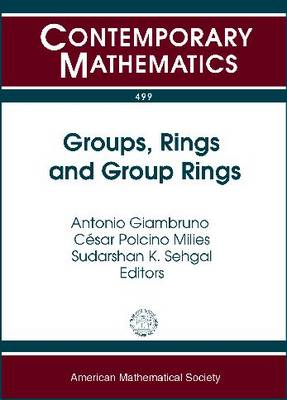 Groups, Rings and Group Rings - Contemporary Mathematics (Paperback)