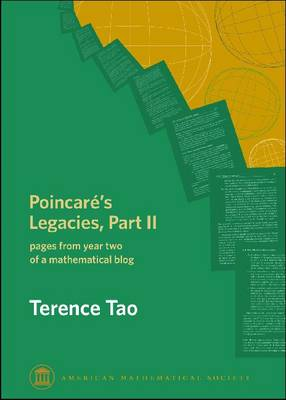 Poincare's Legacies, Part II: pages from year two of a mathematical blog (Paperback)