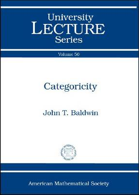 Categoricity - University Lecture Series (Paperback)