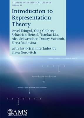 Introduction to Representation Theory - Student Mathematical Library (Paperback)