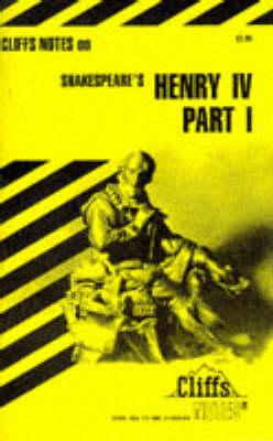 Notes on Shakespeare's King Henry IV, Pt. 1 (Paperback)