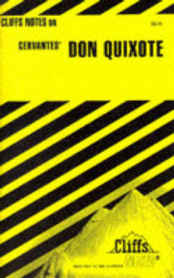 "Notes on Cervantes' ""Don Quixote"" - Cliffs Notes S. (Paperback)"