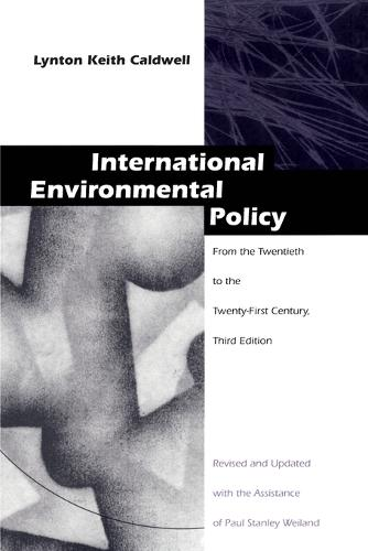 International Environmental Policy: From the Twentieth to the Twenty-First Century (Paperback)