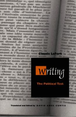 Writing: The Political Test - Post-Contemporary Interventions (Paperback)