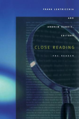 Close Reading: The Reader (Paperback)