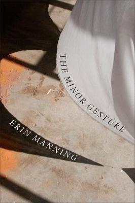 The Minor Gesture - Thought in the Act (Hardback)