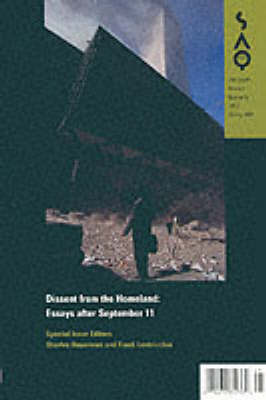 Dissent from the Homeland: Essays after September 11 (Paperback)