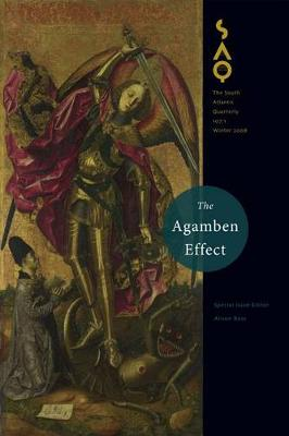 The Agamben Effect (Paperback)