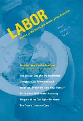 Food and Work in the Americas (Paperback)