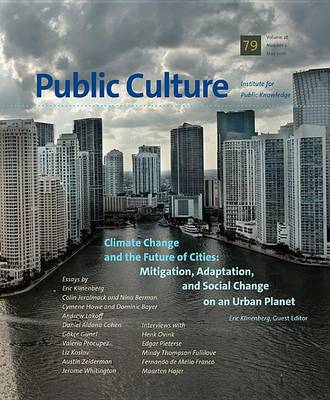 Climate Change and the Future of Cities (Paperback)