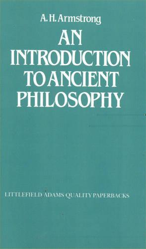 An Introduction to Ancient Philosophy (Paperback)
