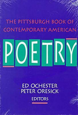 The Pittsburgh Book of Contemporary American Poetry - Pitt Poetry Series (Paperback)
