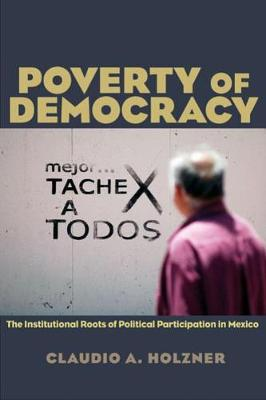 Poverty of Democracy: The Institutional Roots of Political Participation in Mexico (Paperback)