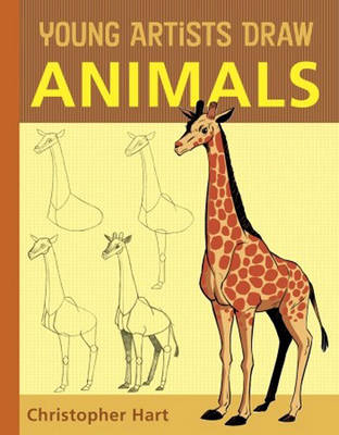 Young Artists Draw Animals (Paperback)