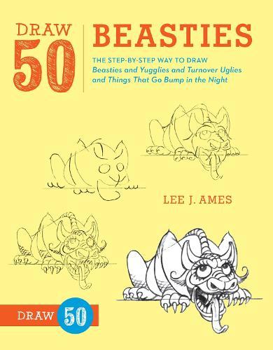 Draw 50 Beasties (Paperback)