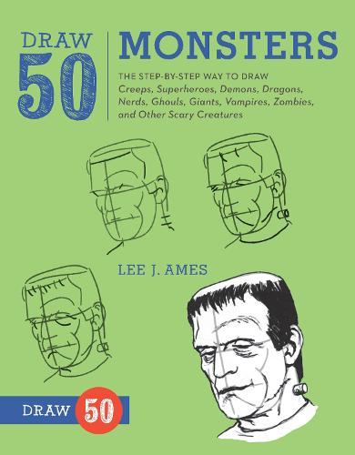 Draw 50 Monsters (Paperback)
