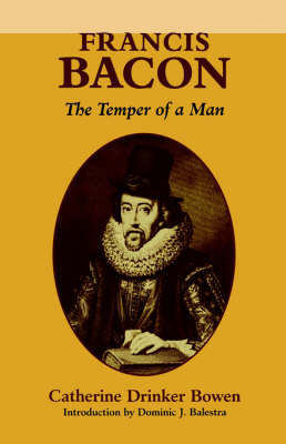 Francis Bacon: The Temper of a Man (Paperback)