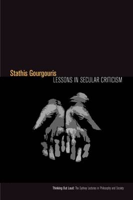 Lessons in Secular Criticism - Thinking Out Loud (Hardback)