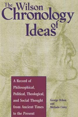 Wilson Chronology of Ideas (Hardback)