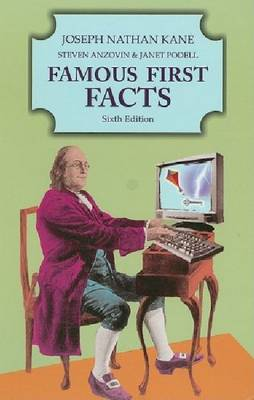 Famous First Facts (Hardback)