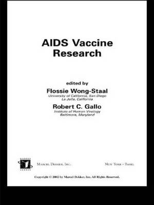 AIDS Vaccine Research (Hardback)