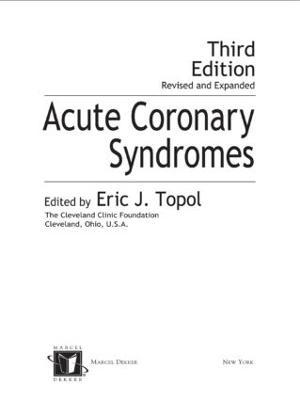 Acute Coronary Syndromes (Hardback)