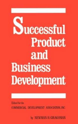 Successful Product and Business Development, First Edition (Hardback)