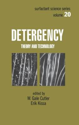 Detergency: Theory and Technology - Surfactant Science 20 (Hardback)