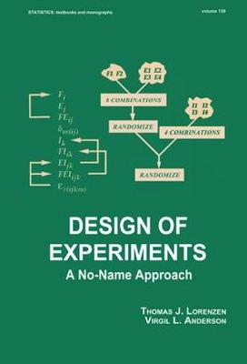 Design of Experiments: A No-Name Approach - Statistics:  A Series of Textbooks and Monographs (Hardback)
