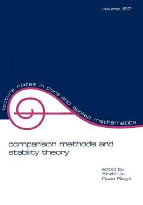 Comparison Methods and Stability Theory - Lecture Notes in Pure and Applied Mathematics 162 (Paperback)