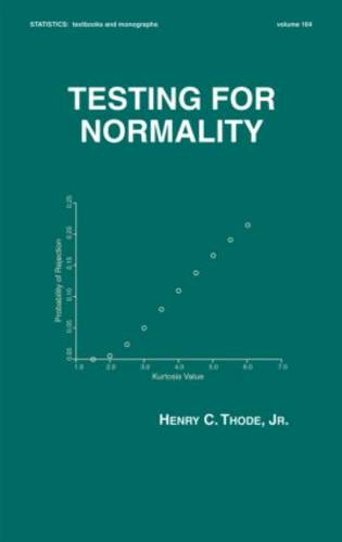 Testing For Normality (Hardback)